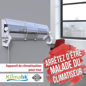 Appareil de climatisation pour mur